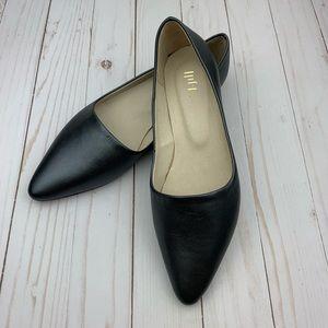 J. Jill Pointed Toe Leather Flats EUC - Size 7